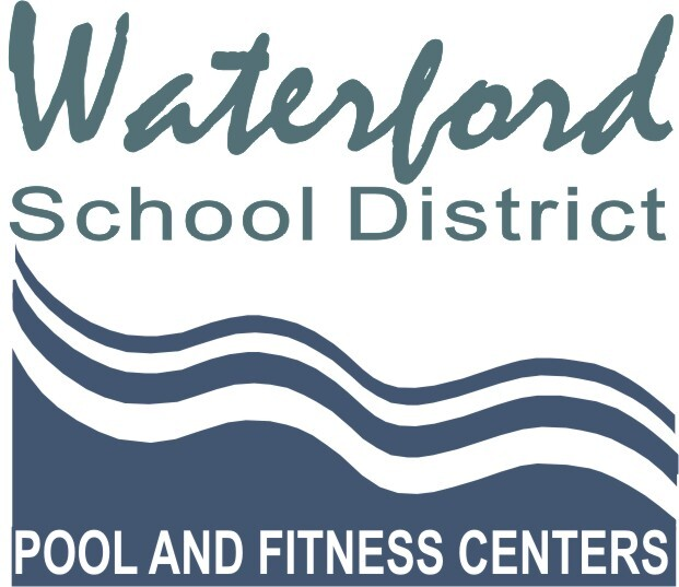 Pool & Fitness Center Logo Wave
